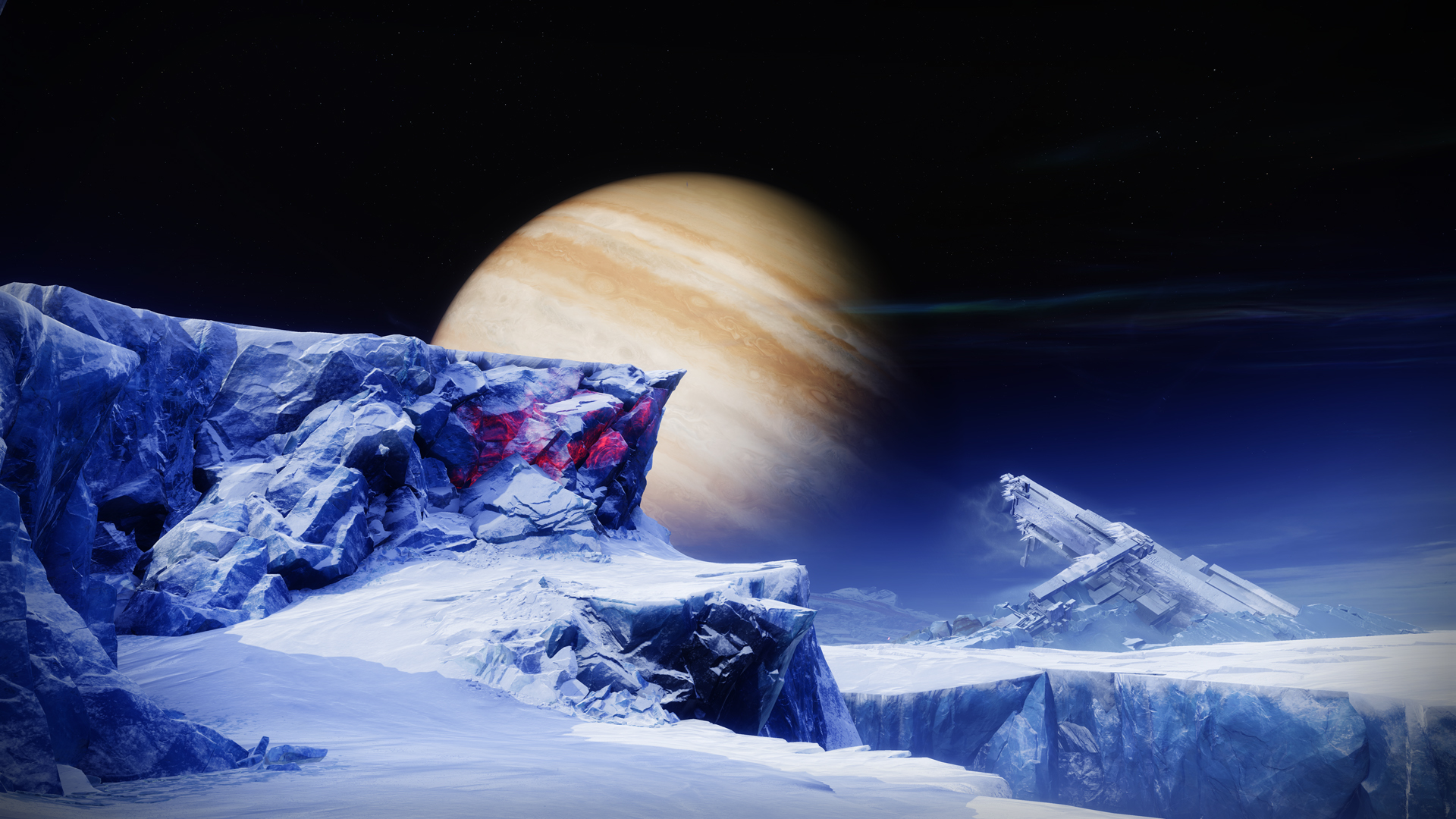 Copyright by BUNGIE - Destiny 2 Beyond Light Europa Environment 06